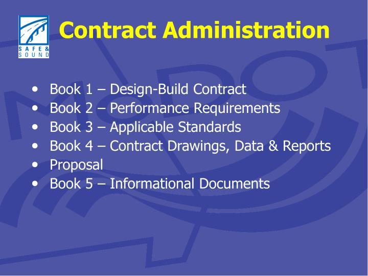 Book 1 – Design-Build Contract