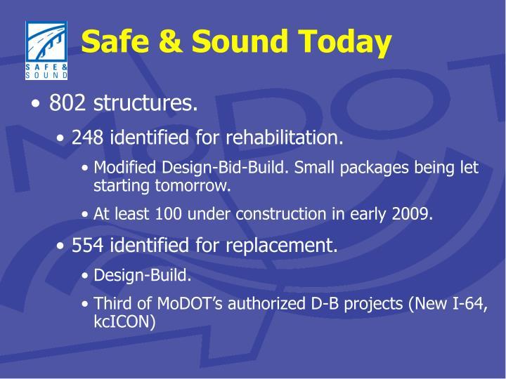 Safe & Sound Today