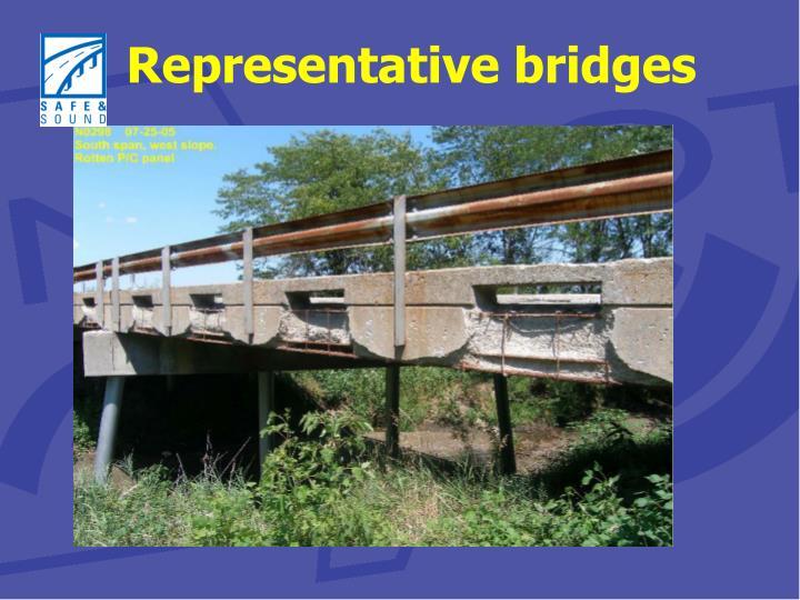 Representative bridges