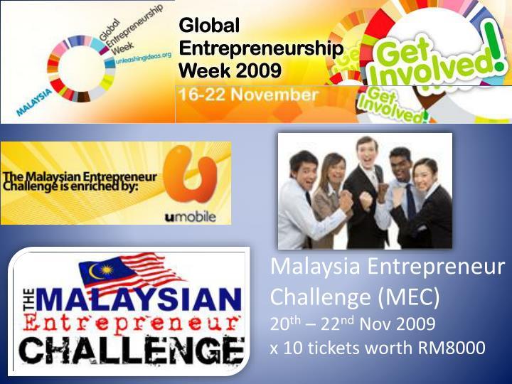Malaysia Entrepreneur Challenge (MEC)