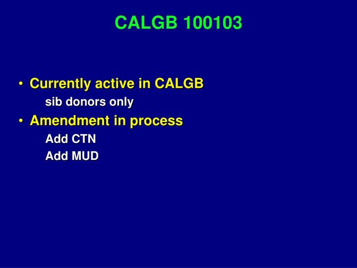 CALGB 100103