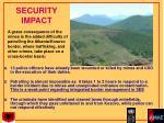 security impact