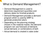 what is demand management
