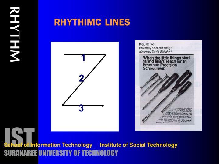 RHYTHIMC LINES