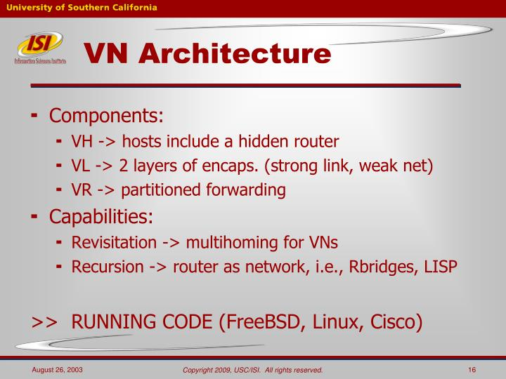 VN Architecture