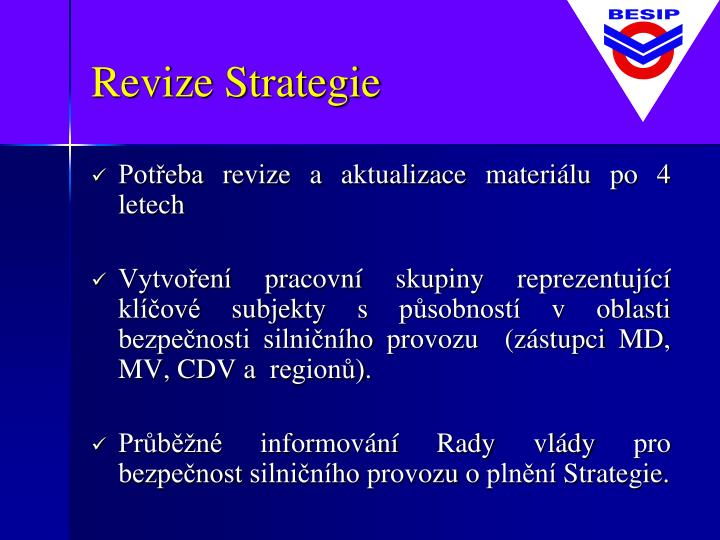 Revize Strategie