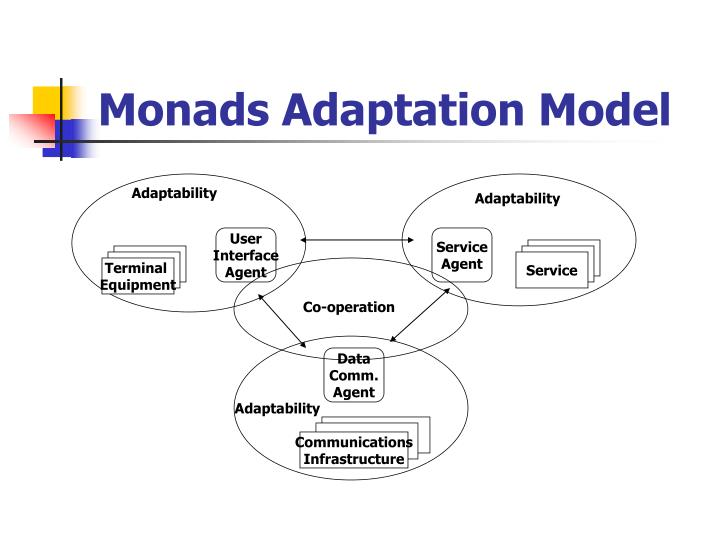 Monads Adaptation Model