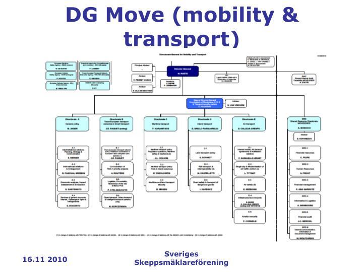 DG Move (mobility & transport)