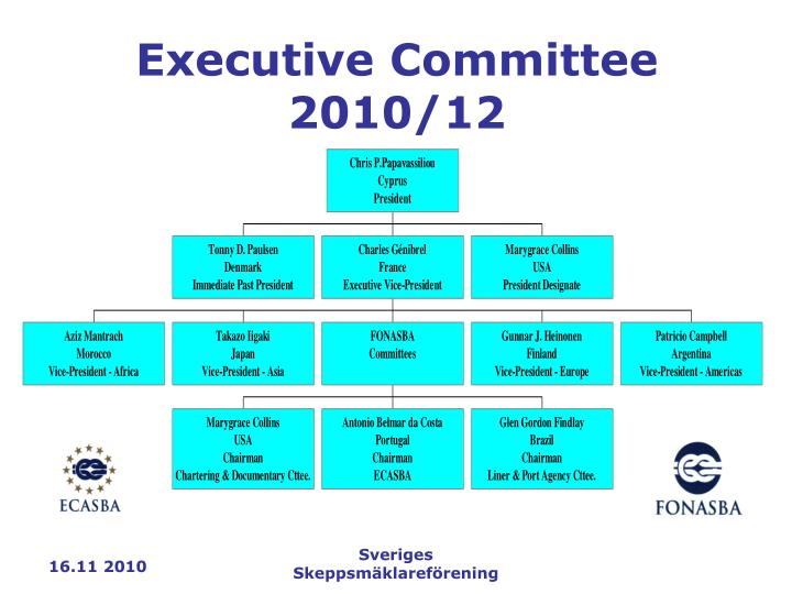 Executive Committee 2010/12
