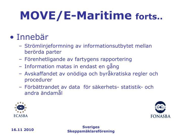 MOVE/E-Maritime