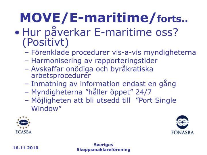 MOVE/E-maritime/
