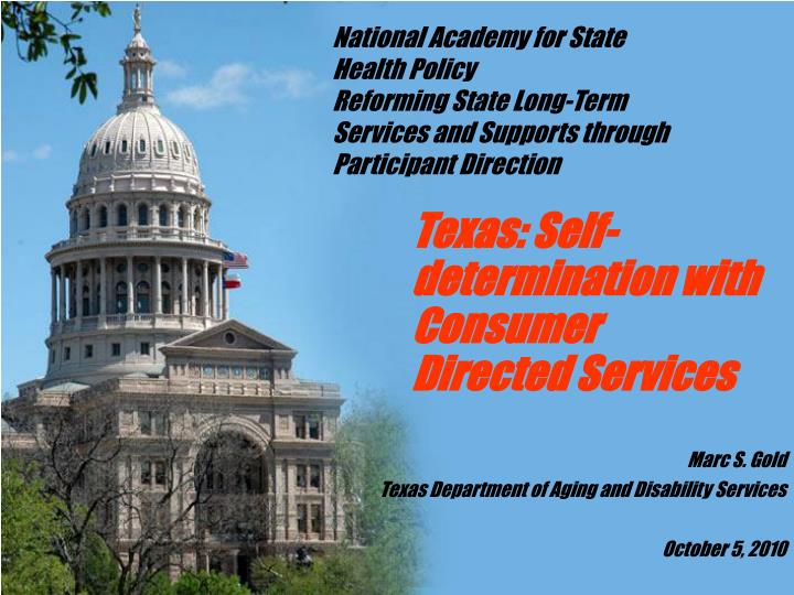 National Academy for State Health Policy