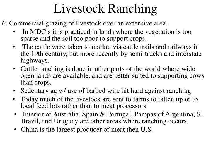 Livestock Ranching