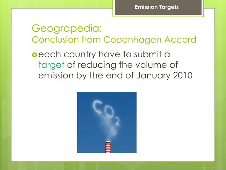 Emission Targets