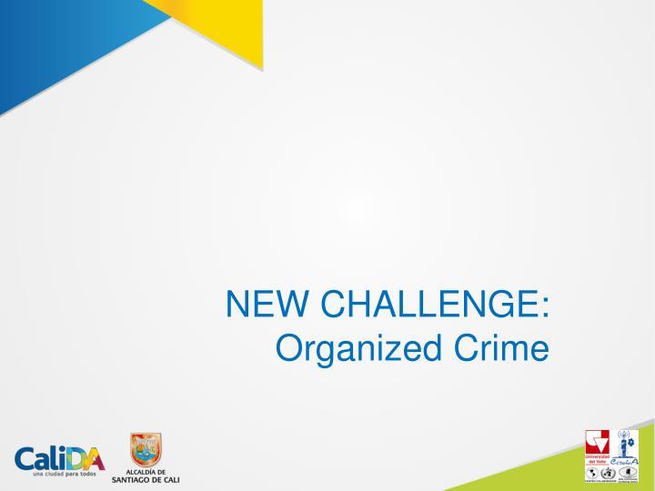 NEW CHALLENGE:
