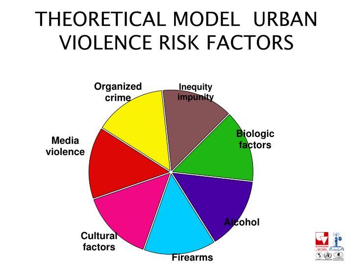 THEORETICAL MODEL  URBAN VIOLENCE RISK FACTORS