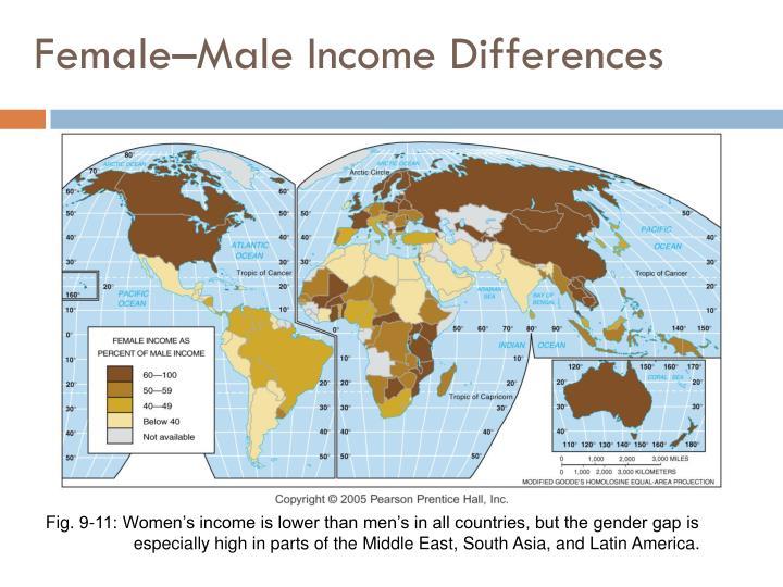 Female–Male Income Differences