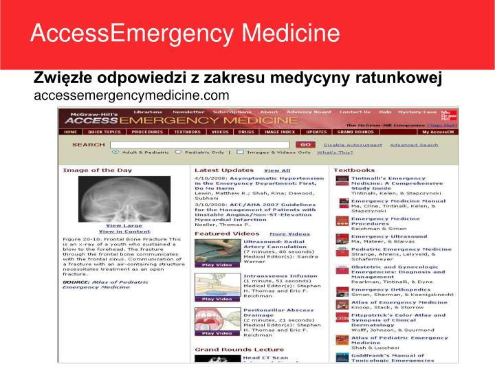 AccessEmergency Medicine