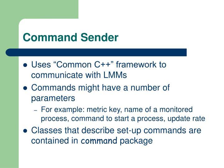 Command Sender