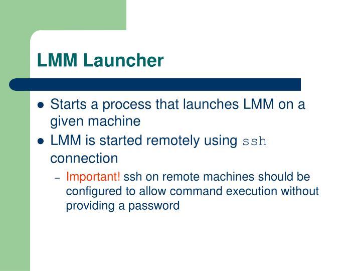 LMM Launcher