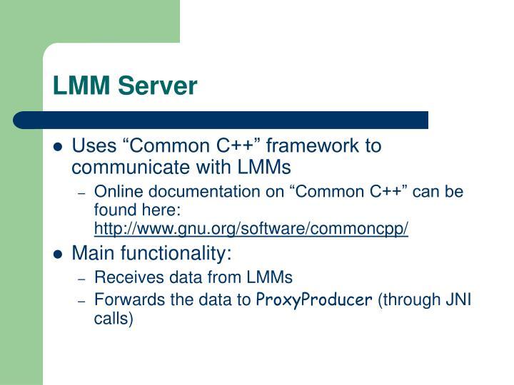 LMM Server