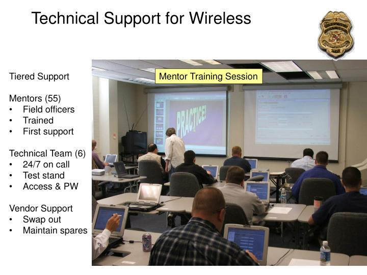 Technical Support for Wireless