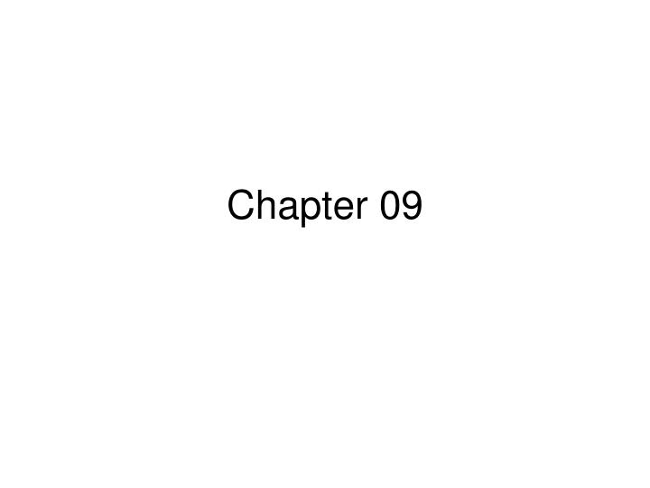 Chapter 09