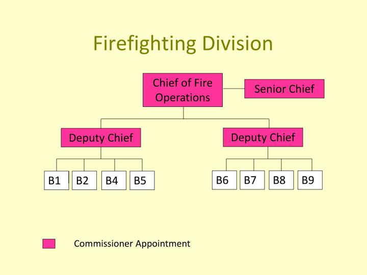 Chief of Fire Operations