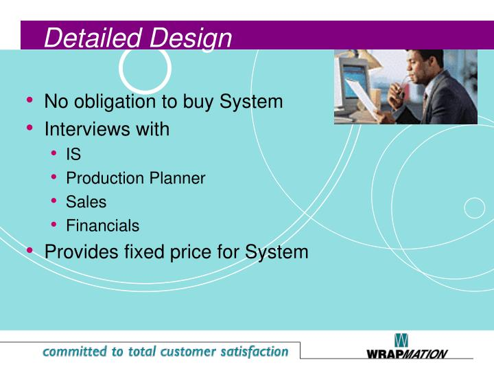 No obligation to buy System