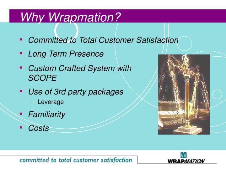 Committed to Total Customer Satisfaction