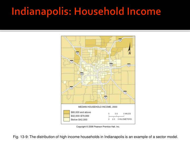 Indianapolis: Household Income