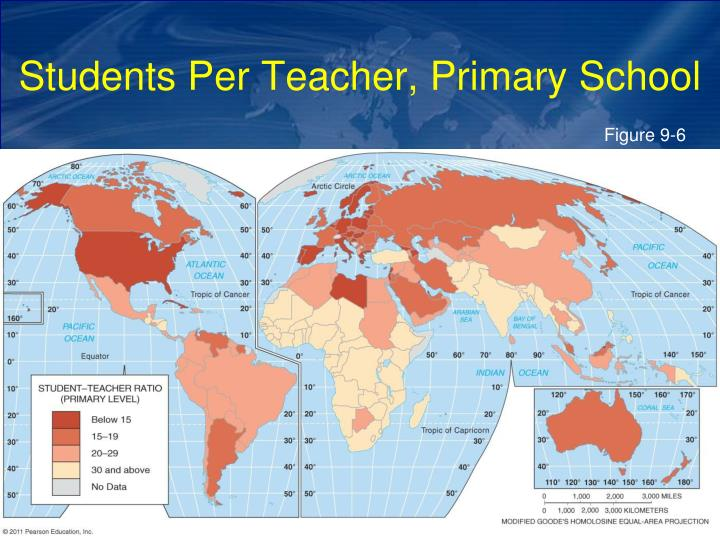Students Per Teacher, Primary School