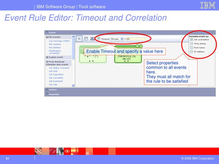 Enable Timeout and specify a value here