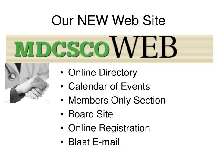 Our NEW Web Site