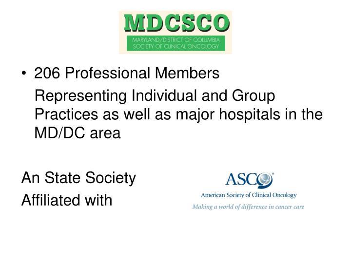 206 Professional Members