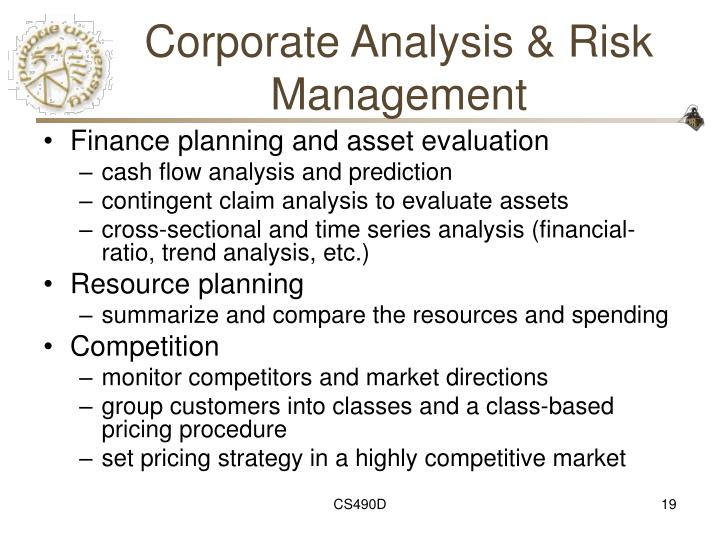 Corporate Analysis & Risk Management