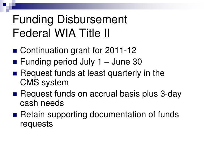 Continuation grant for 2011-12