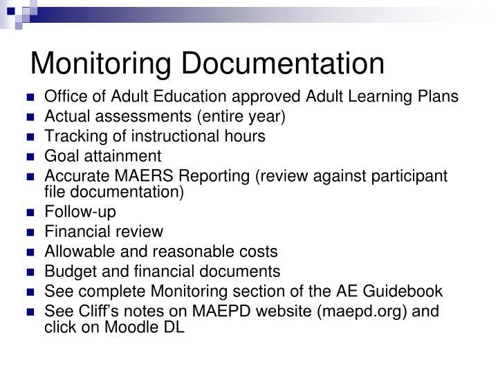 Monitoring Documentation