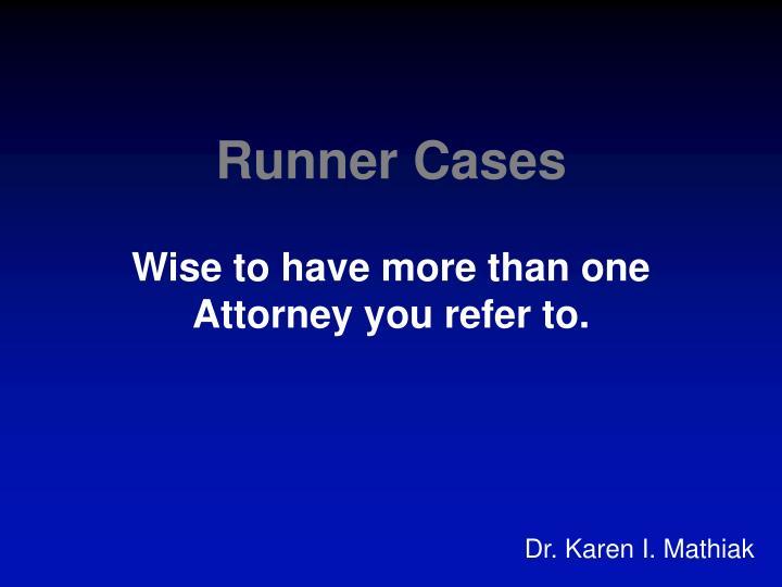 Runner Cases