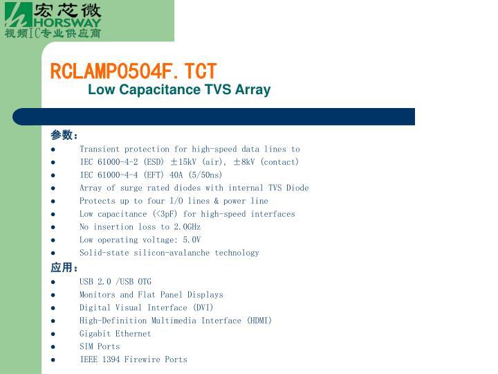RCLAMP0504F.TCT