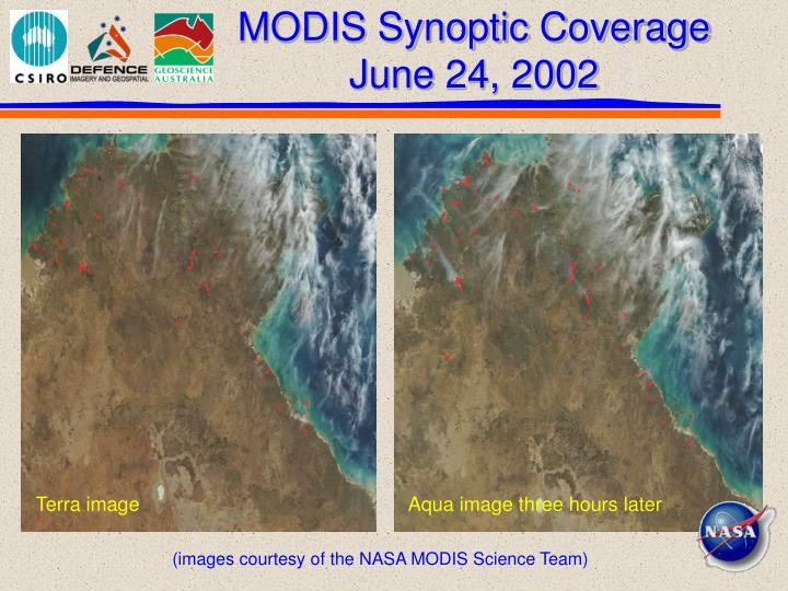MODIS Synoptic Coverage