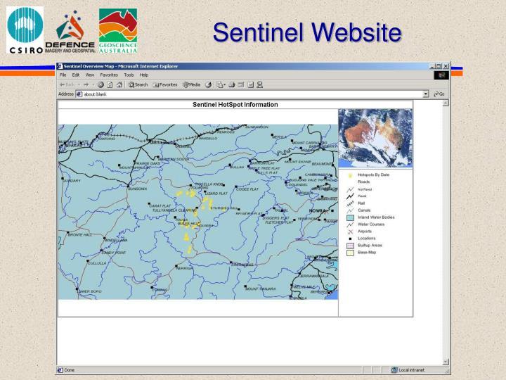 Sentinel Website