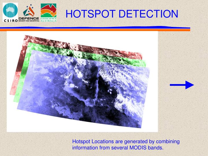 Hotspot Locations are generated by combining