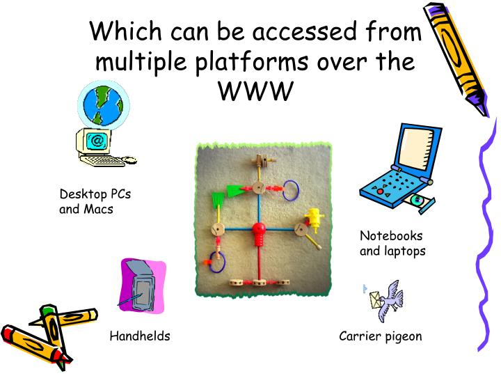Which can be accessed from multiple platforms over the WWW