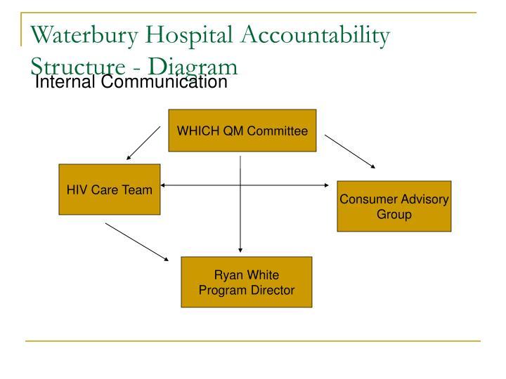 Waterbury Hospital Accountability Structure - Diagram