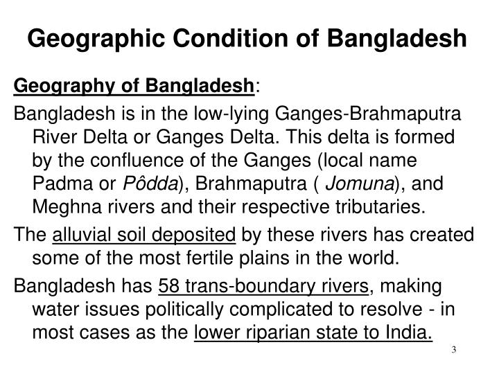Geographic condition of bangladesh2