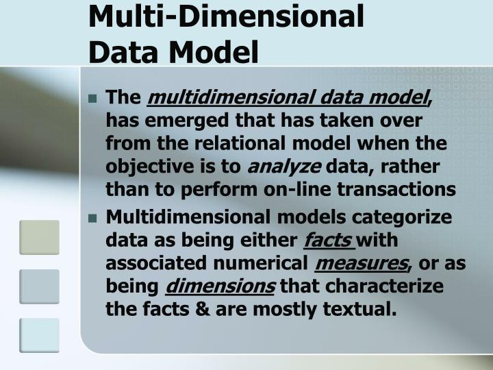 Multi-Dimensional