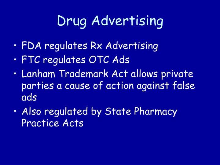Drug Advertising