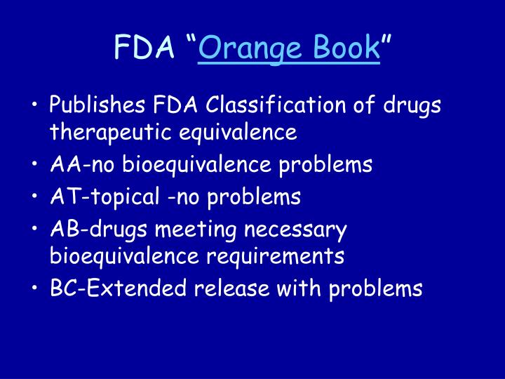 """FDA """""""
