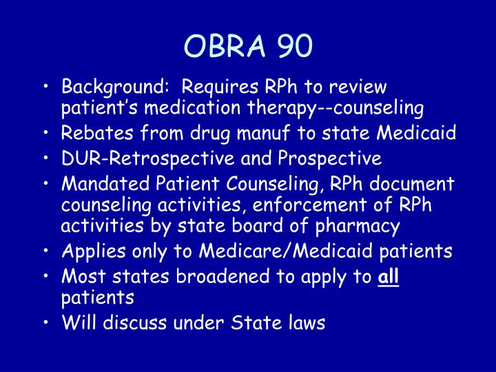 OBRA 90